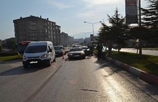 Bursa'da zincirleme trafik kazasında 8 araç...