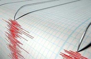 Akdeniz'de deprem!