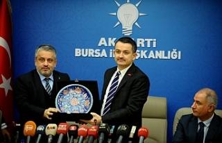 """Bakan Pakdemirli Bursa'da! """"Çocuklarınızın..."""