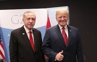 Cumhurbaşkanı Erdoğan, ABD Başkanı Trump'la...
