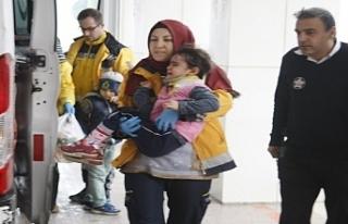 Bursa'da küçük çocuğa motosiklet çarptı