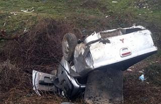 Bursa'da feci kaza! Nişanlı çift ölümden...