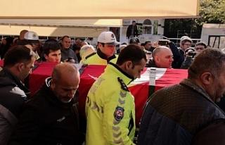 İntihar eden polis toprağa verildi