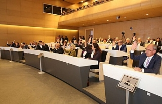 Nilüfer Belediye Meclisinde ilk toplantı