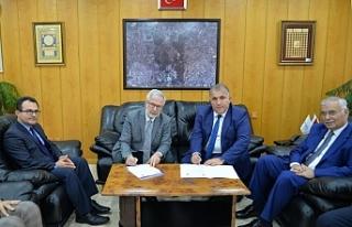 Yenişehir ve UÜ'den örnek protokol