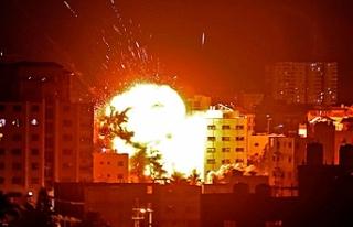 Anadolu Ajansı'nın Gazze'deki ofisine...
