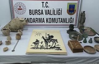 Bursa'da kaçakçı avı