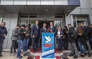 CHP'den DSP'ye 'İstanbul seçimi'...