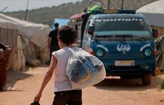Esed rejimi ve destekçileri 400 bin sivili yerinden...