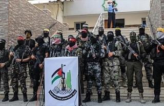 Filistinli gruplardan İsrail'in Gazze saldırılarına...