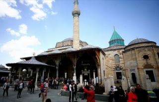 Mevlana Müzesi ramazana hazır