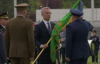 NATO'da GKRY'nin davet edildiği törene...