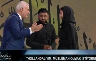 Nihat Hatipoğlu'nun Programında Müslüman...