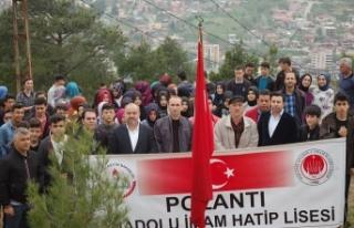 Pozantı AİHL'den geleneksel yürüyüş