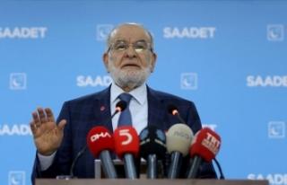 Saadet Partisi Genel Başkanı Karamollaoğlu: Kararımızı...