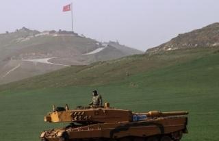Zeytin Dalı harekat bölgesinde bir asker şehit...