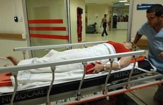 Bursa'da feci kaza : 2 kişi yaralandı