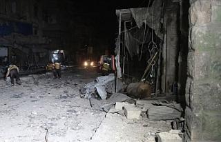 İdlib Gerginliği Azaltma Bölgesi'ne hava saldırıları:...
