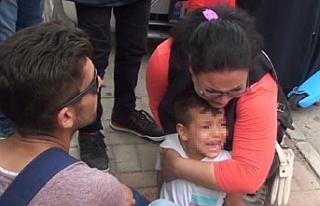 Oğlunu öyle gören anne gözyaşlarına boğuldu