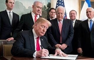 'Yüzyılın Anlaşması' Filistin davasını...