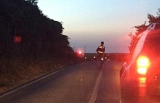 Bursa'da feci kaza! Motosiklet traktöre çarptı...