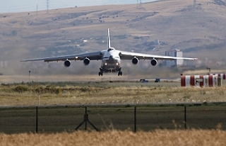 S-400'leri taşıyan 13. Rus uçağı Ankara'da
