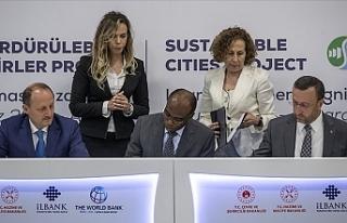 Sürdürülebilir Şehirler Projesi'ne 500 milyon...