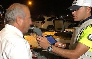 9 ayda alkollü araç kullananların sayısı…