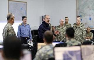 Bakan Akar: ABD'nin gözlem noktasına atış...