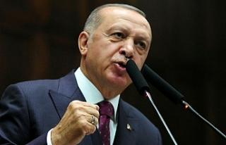Başkan Erdoğan ABD'ye Seslendi