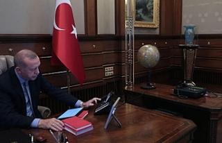 Cumhurbaşkanı Erdoğan harekat emrini verdiği an