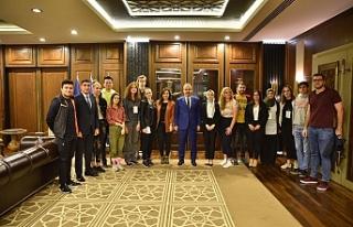 Dünya gençleri Bursa'da Buluştu