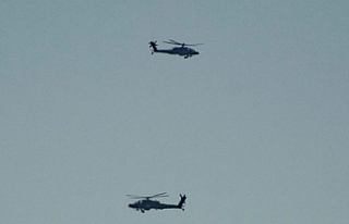 Harekat'ta dikkat çeken helikopterler!