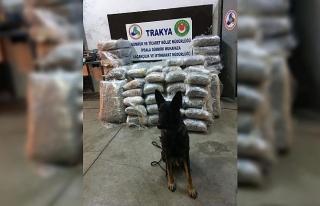 İpsala'da TIR'da 335 kilo esrar ele geçirildi