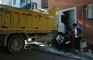 İstanbul' da faciadan kıl payı kurtuldu