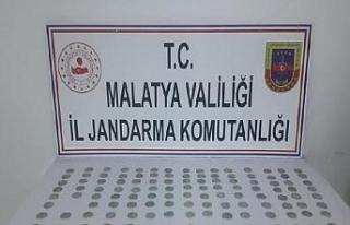 Malatya'da tarih eser operasyonu: 1 gözaltı