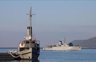 NATO gemileri Çanakkale'ye geldi!