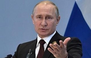 Putin'nin Barış Pınarı Harekatı açıklaması!