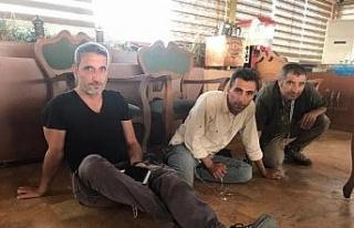 Teröristlerden Nusaybin'deki gazetecilere silahlı...