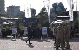 Türk savunma sanayi ürünleri Ukrayna'da görücüye...