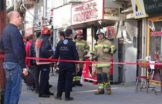 Bursa'da apartmanda yangın paniği!