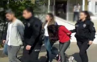 Cinsel istismarda bulunduğu kızı çete lideri yaptı
