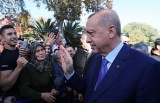 Erdoğan, Akbaşoğlu'nun annesinin cenazesine...