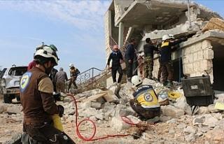 İdlib saldırılarında 7 sivil hayatını kaybetti