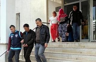 Kayseri'de 6 hırsızlık şüphelisi yakalandı