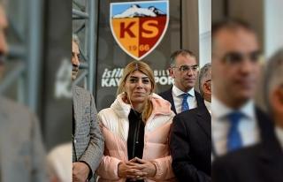 Kayserispor Yönetim Kurulu aldığı karar ile Berna...