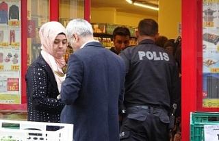 Maskeli hırsız marketten 20 bin lira çaldı