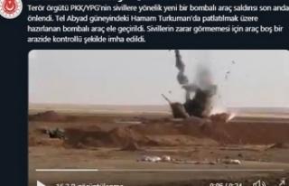 MSB: Tel Abyad'da terör saldırısı son anda...