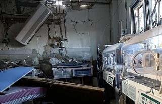 Rusya çocuk hastanesini hedef aldı