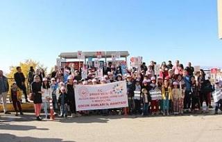Şırnak'ta 'Çocuk hakları durağı'...
